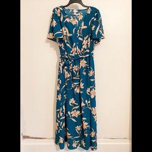 Target— AVA & VIV Blue Floral Dress